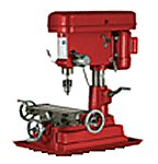 harbor freight vertical milling machine