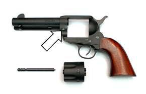 Pietta 1873 single action revolver